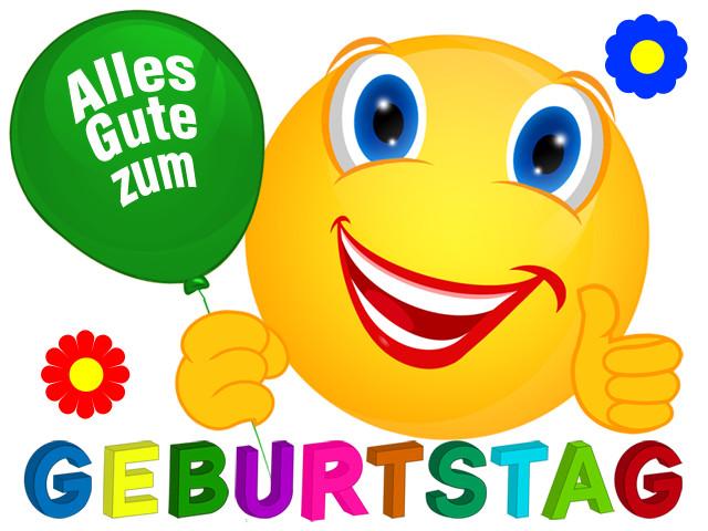 Die Besten Geburtstagswünsche Whatsapp Smileys - Beste