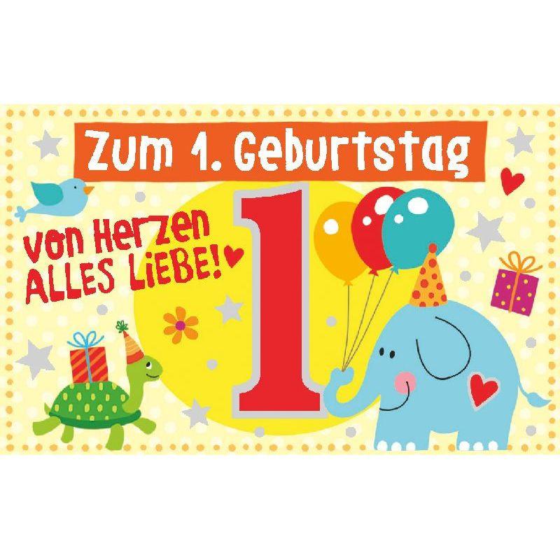Geburtstagswünsche Zum 1 Geburtstag  Geburtstagteelicht Geburtstag Geburtstagkarte Kerze