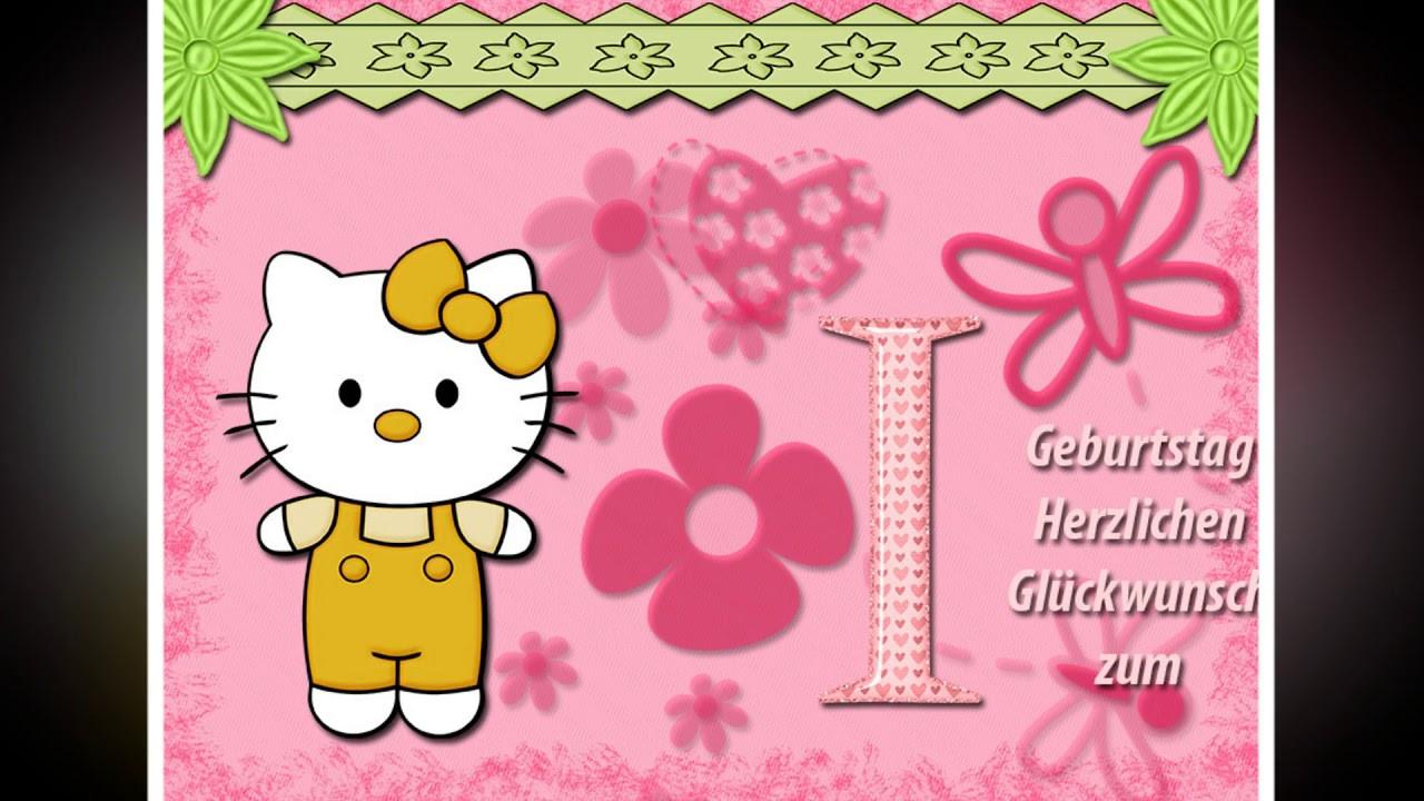 Geburtstagswünsche Zum 1 Geburtstag  Herzlichen Glückwunsch zum 1 Geburtstag mädchen