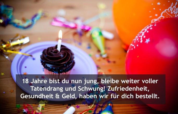 Geburtstagswünsche Zum 1 Geburtstag Von Den Großeltern  Glückwünsche zum 18 Geburtstag von den Großeltern Die
