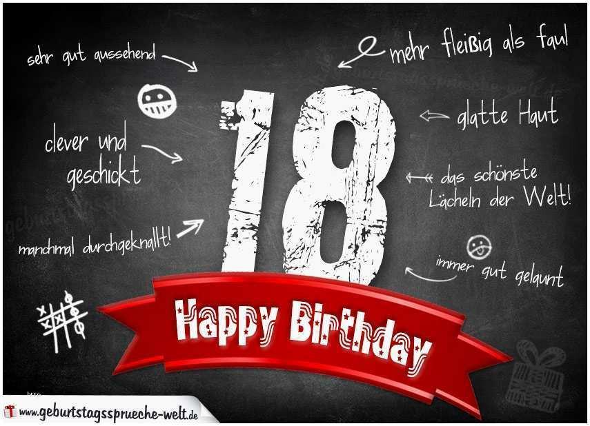 Geburtstagswünsche Zum 18. Geburtstag  Sprüche Zum 18 Geburtstag Lustig Bewundernswert Grüße Zum