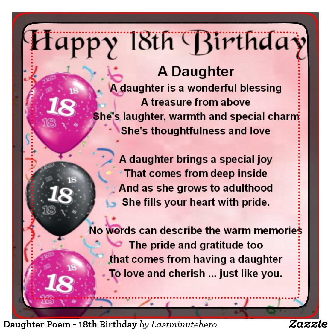 Geburtstagswünsche Zum 18. Geburtstag  Gedicht Für Tochter Zum 25 Geburtstag