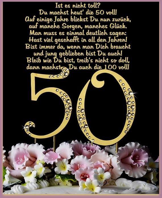Geburtstagswünsche Zum 25  Die besten 25 50 geburtstag spruch Ideen auf Pinterest