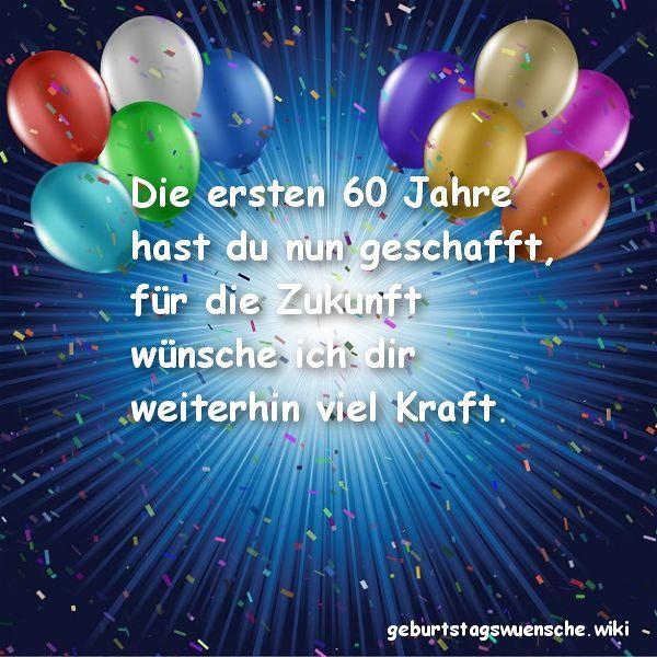 Geburtstagswünsche Zum 3. Geburtstag  Glückwünsche zum 60 Geburtstag © 【Geburtstagswuensche】