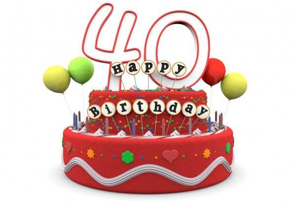 Geburtstagswünsche Zum 40 Geburtstag Mann  Glückwunsch zum 40 Geburtstag
