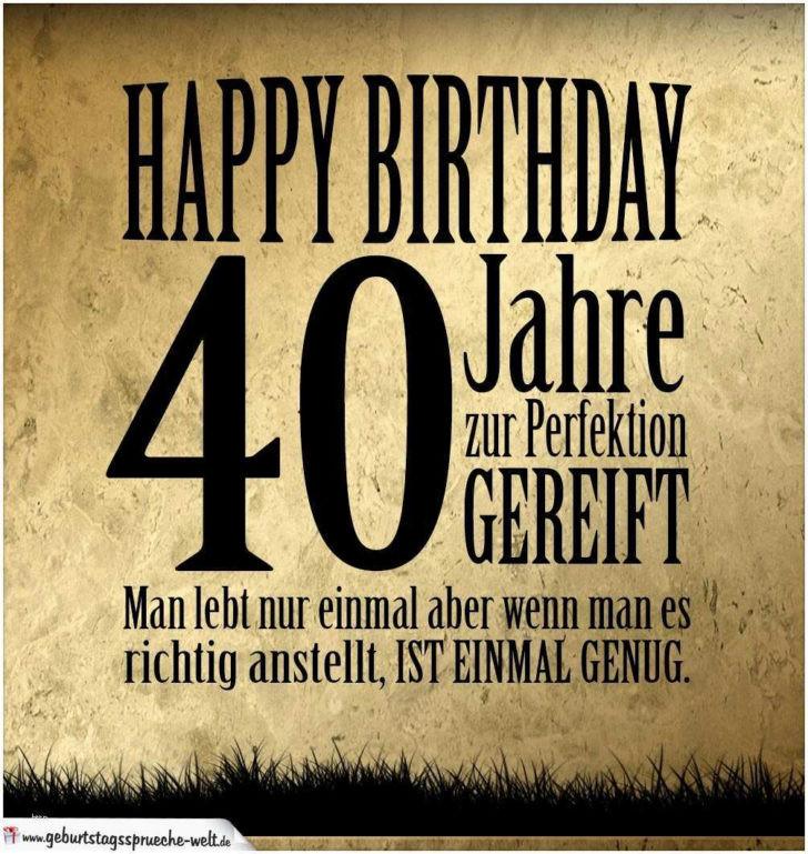 Geburtstagswünsche Zum 40 Geburtstag Mann  Kurze Geburtstagswünsche Zum 40 Mann droitshumainsfo
