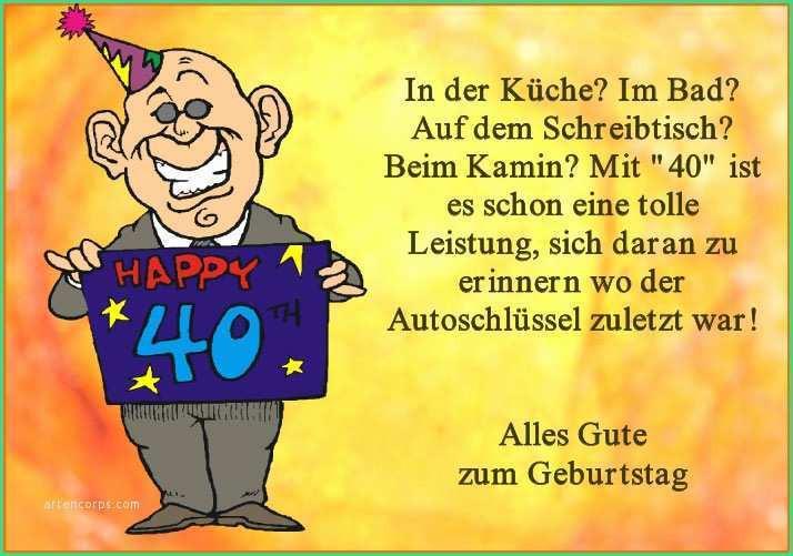 Geburtstagswünsche Zum 40 Mann  Geburtstagssprüche Lustig Mann Kurz Prettier