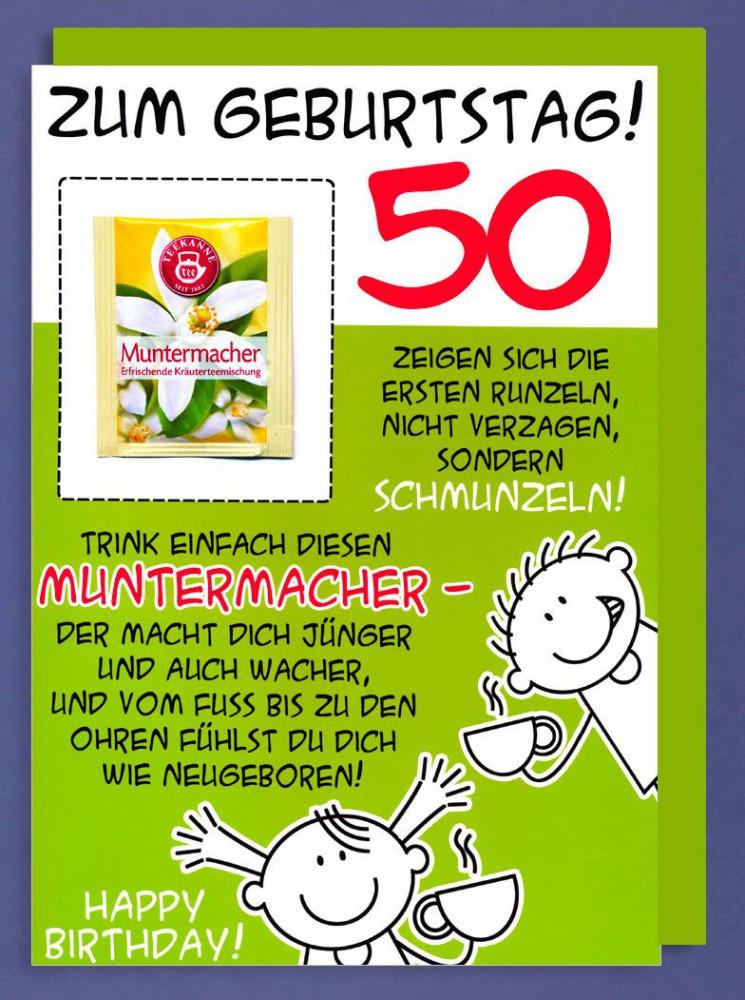 Geburtstagswünsche Zum 50  Sprüche Zum 50 Geburtstag Für Plakat