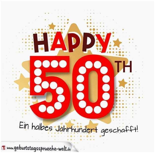 Geburtstagswünsche 50.