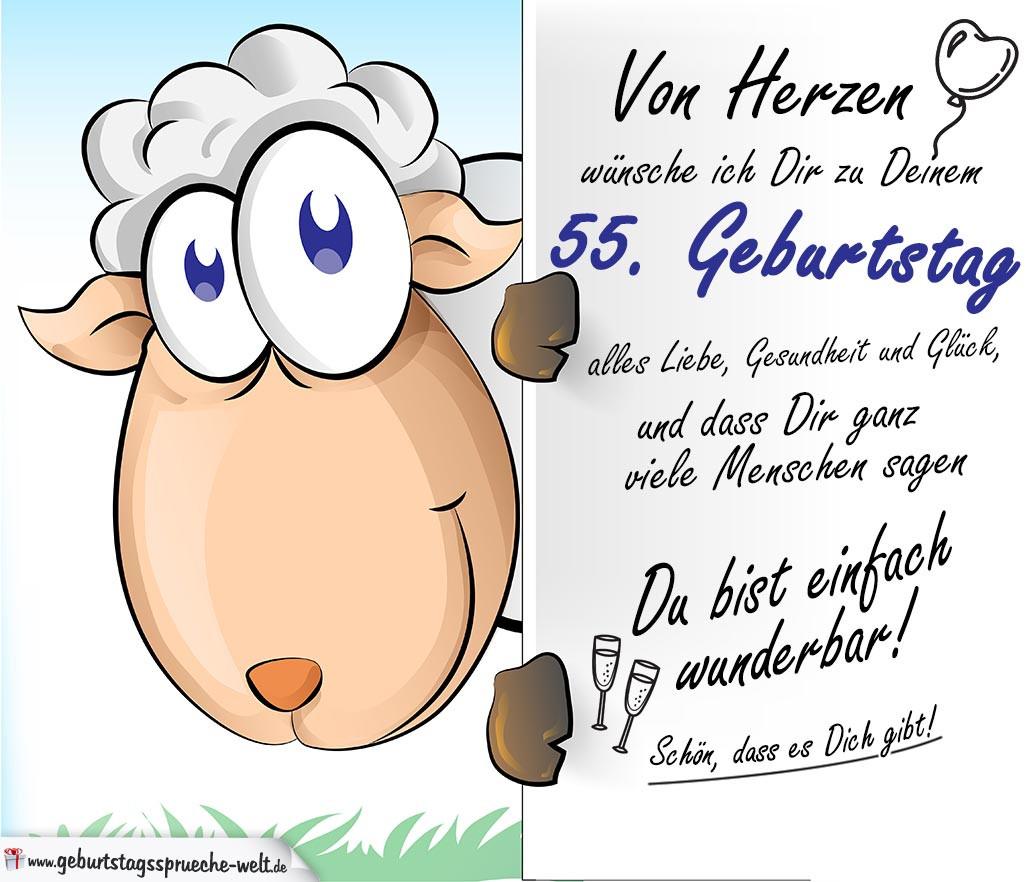 Geburtstagswünsche Zum 55  Geburtstagswünsche Zum 55 Für Mann droitshumainsfo
