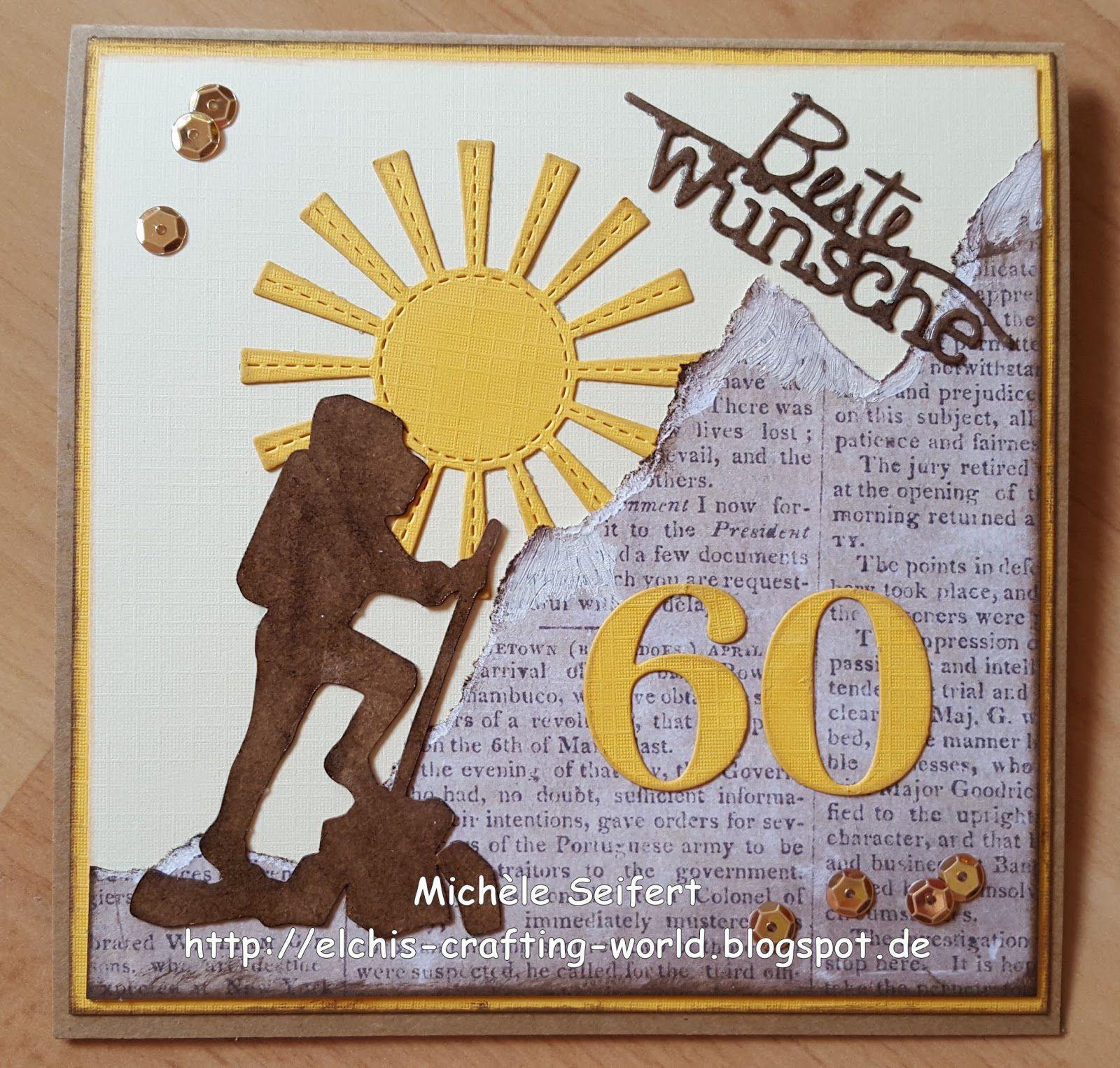 Geburtstagswünsche Zum 60 Geburtstag  Geburtstagskarten 60 Geburtstag Zum Ausdrucken
