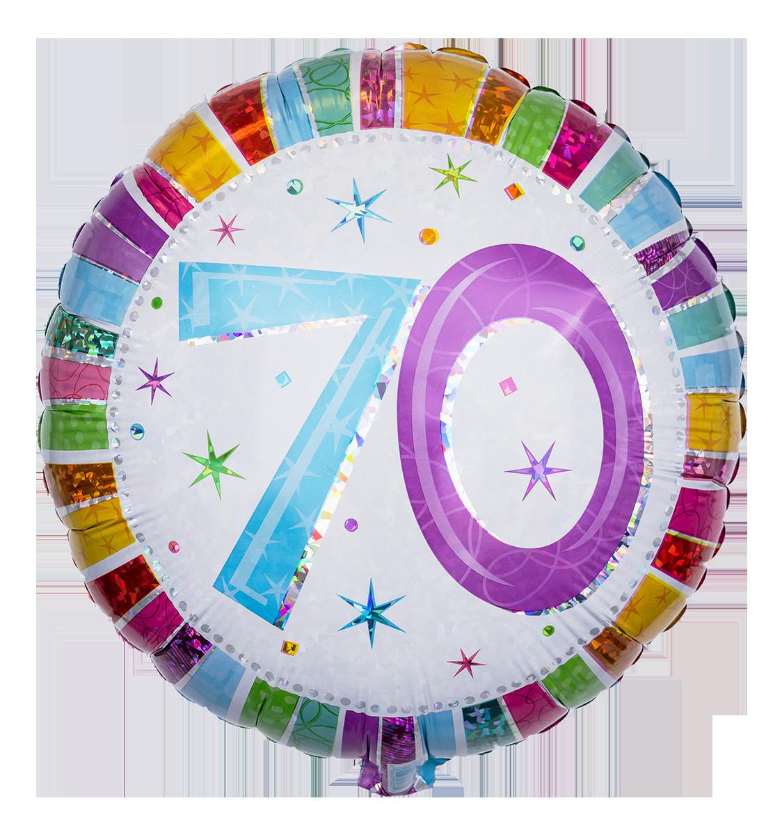 Geburtstagswünsche Zum 70.  Verschicken Sie Ballongrüße zum 70
