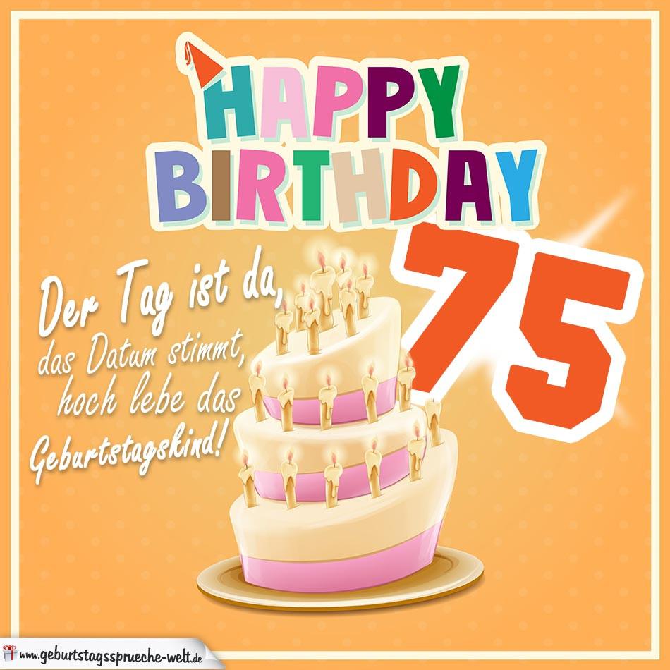 Die Besten Ideen Für Geburtstagswünsche Zum 75 Beste Wohnkultur