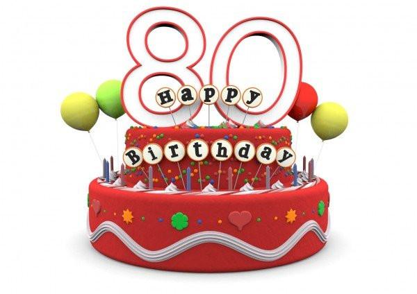 Geburtstagswünsche Zum 80 Geburtstag  Rede zum 80 Geburtstag