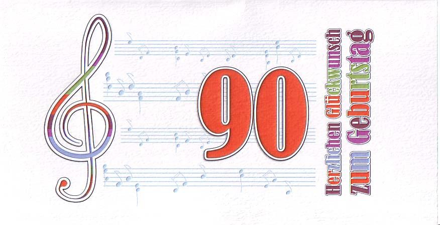 Geburtstagswünsche Zum 90. Geburtstag  QualityFlower Shop Aachen