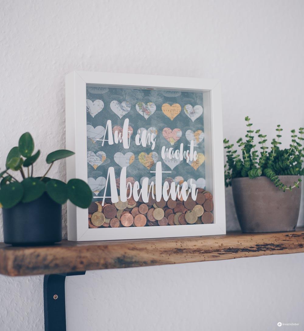 Geldgeschenk Hochzeit Diy  DIY Geldgeschenk zur Hochzeit im Ribba Rahmen Tipps zum