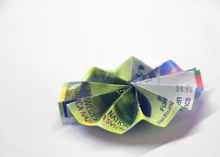 Geldschein Geschenke  Geldscheine falten