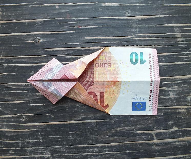 Geldschein Geschenke  Fisch falten aus Geldschein einfache Anleitung