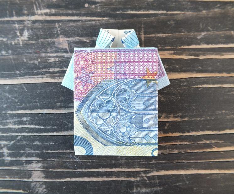 Geldschein Geschenke  Geldscheine falten & einfache Anleitungen Geld falten