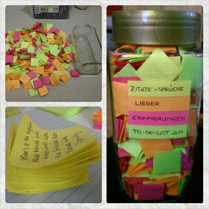 Geschenk Beste Freundin Diy  Geschenk für meine beste Freundin 400 Zettel mit Sprüchen