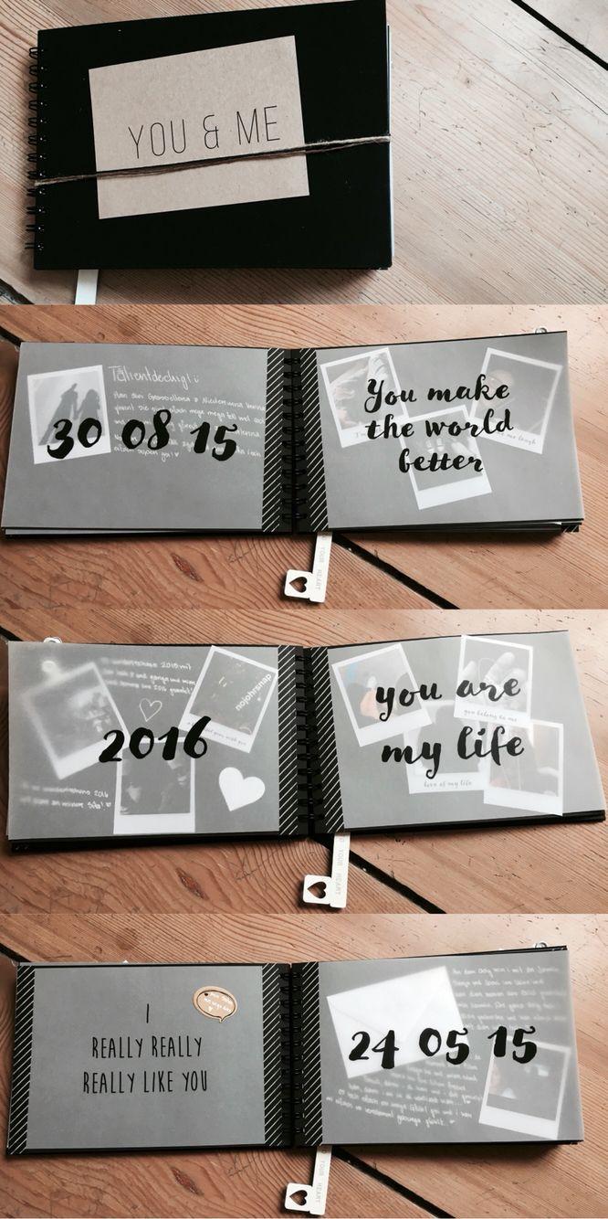 Geschenk Für Meinen Freund  Ein Jahresbuch für meinen Freund zum Einjährigen Von dem