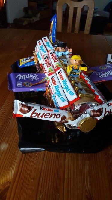 Geschenk Für Meinen Freund  Geschenk für meinen Freund Süßigkeiten Flugzeug basteln