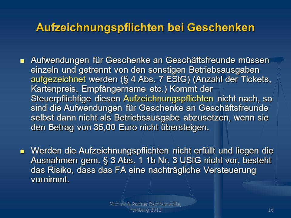 Geschenke An Kunden 35 Euro Netto Oder Brutto  Geschenke 35 euro nicht abzugsfahige betriebsausgaben