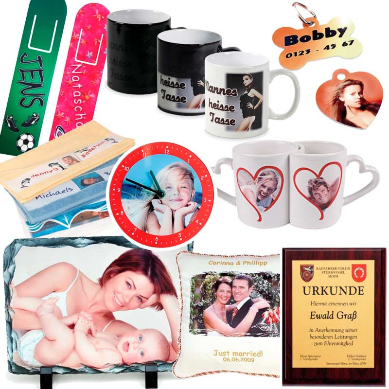 Geschenke Bedrucken  Foto Geschenke bei Copy & Print Weilburg