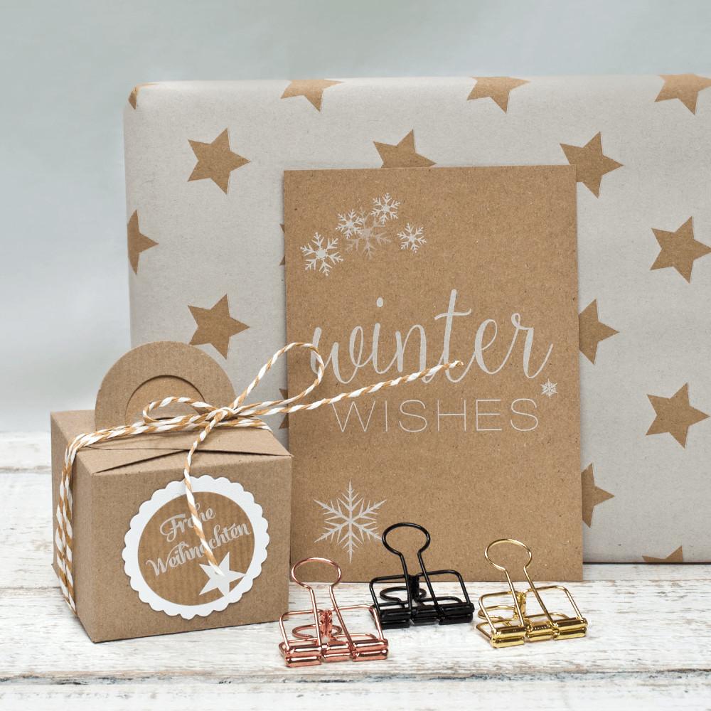 Geschenke Blog  Geschenke verpacken für Weihnachten Beispiele miomodo