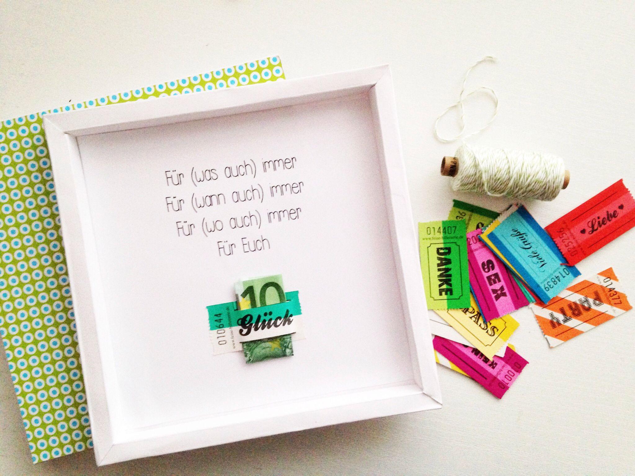 Geschenke Blog  Geldgeschenke verpacken mal anders blog