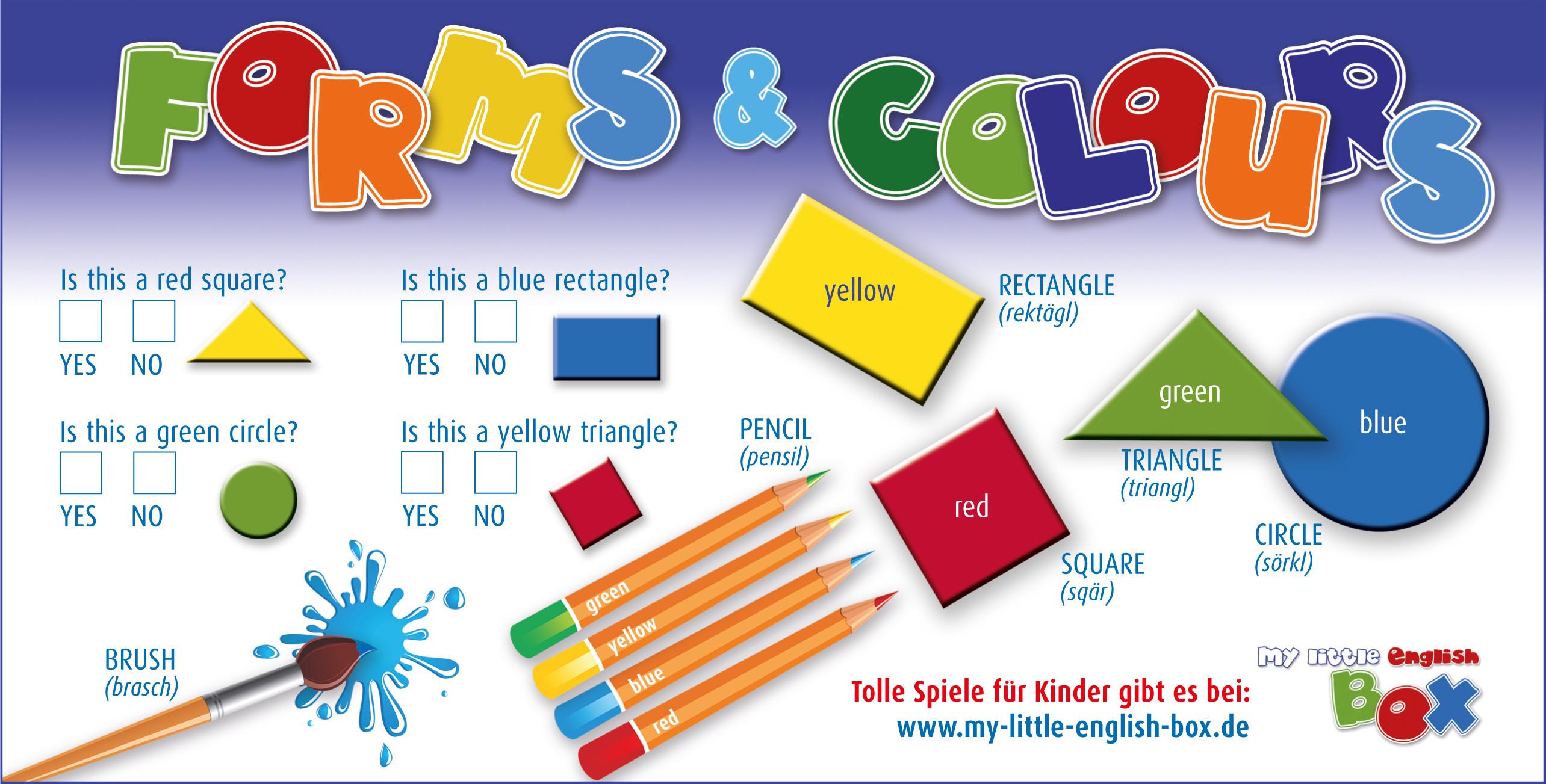 Geschenke Englisch  Gute Geschenke für Kinder my little english box