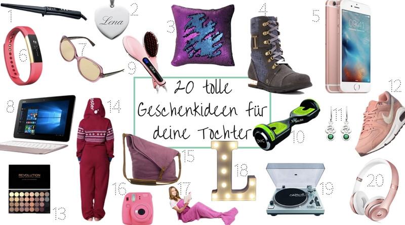 Geschenke Für 12 Jährige Tochter  Weihnachten 20 tolle Geschenkideen für deine Tochter