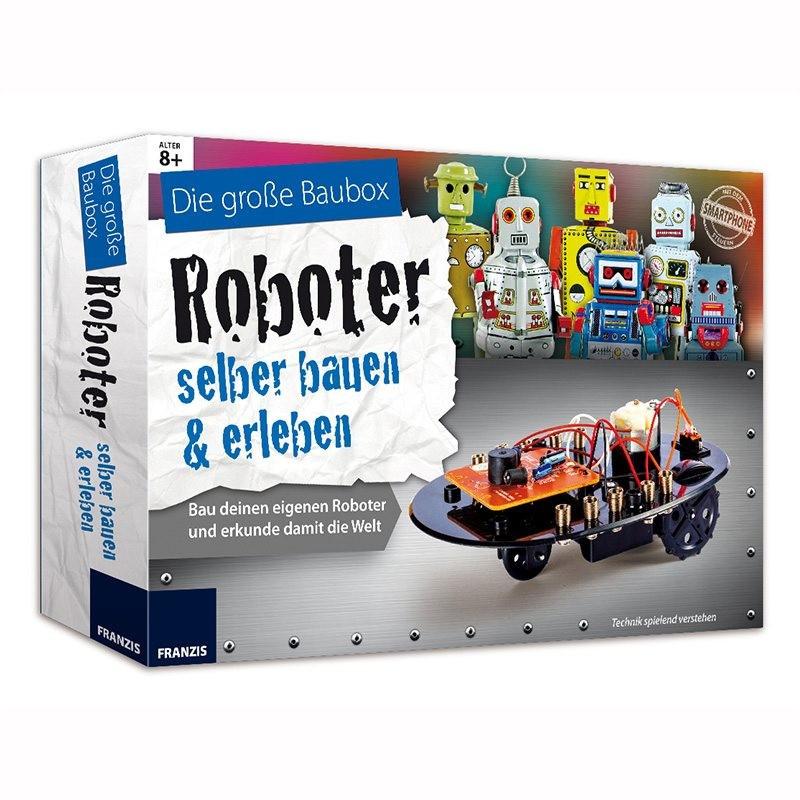 Geschenke Für 14 Jährige Jungs  Roboter Bausatz für Kinder