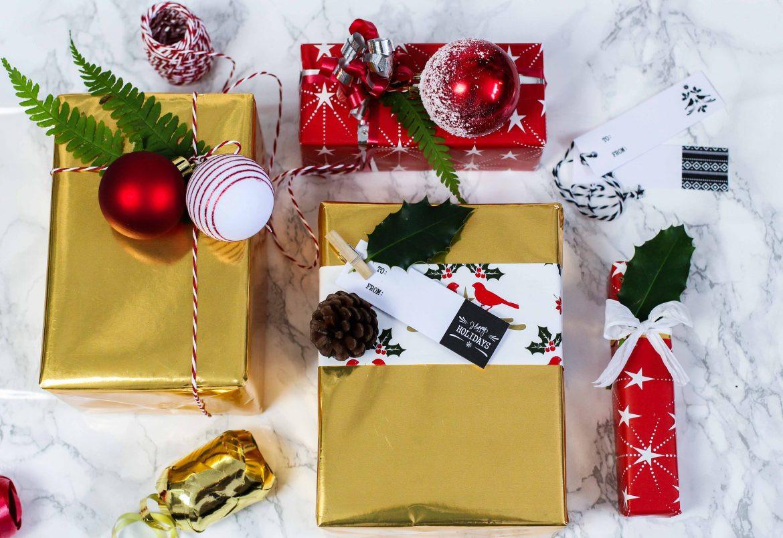 Geschenke Für 2  Geschenke kreativ einpacken für Weihnachten