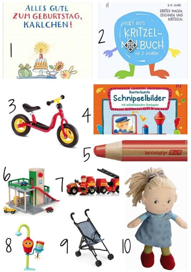 Geschenke Für 2Jährige  Geschenke zum zweiten Geburtstag Mamaskind