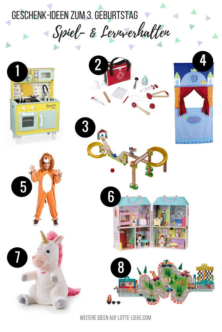 Geschenke Für 3 Jährige Mädche  Geschenk Ideen für 3 Jährige zum Geburtstag oder