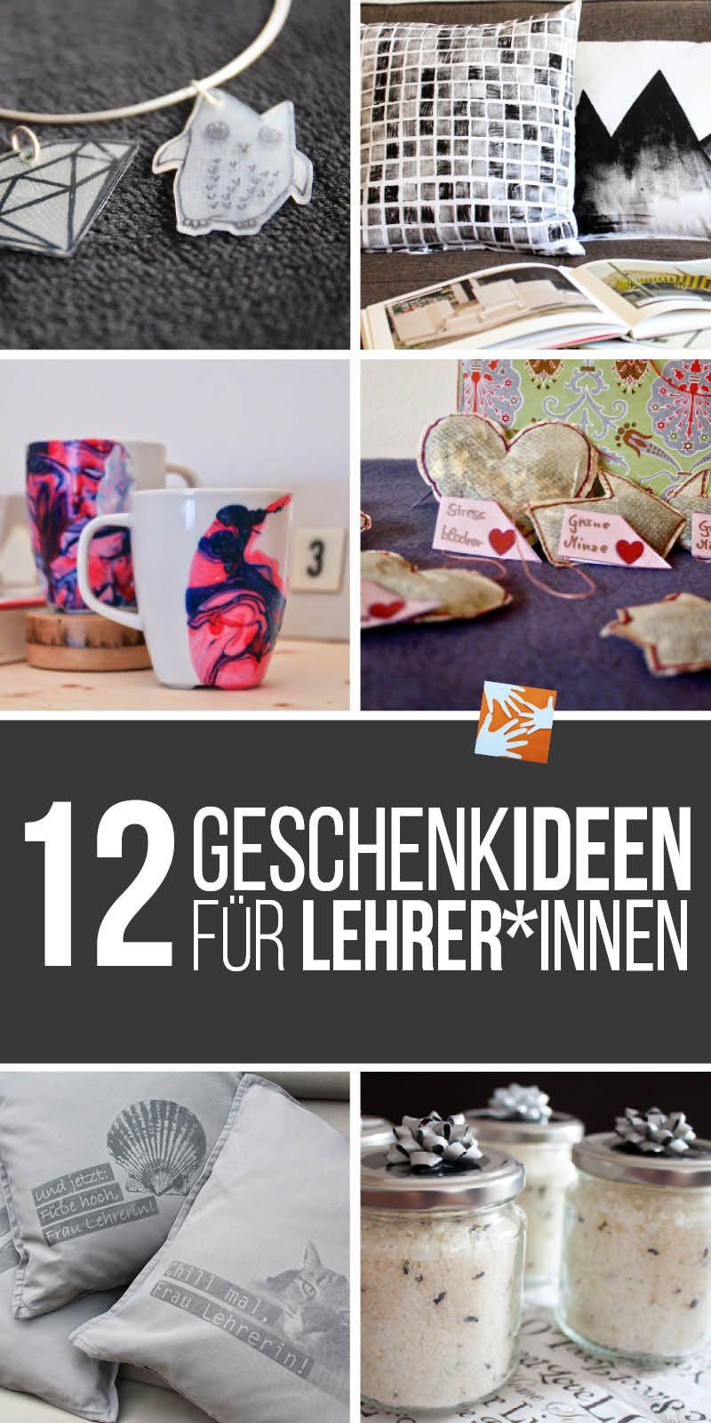 Geschenke Für Angehende Lehrer  12 Geschenkideen zum Schulschluss für Lehrer und
