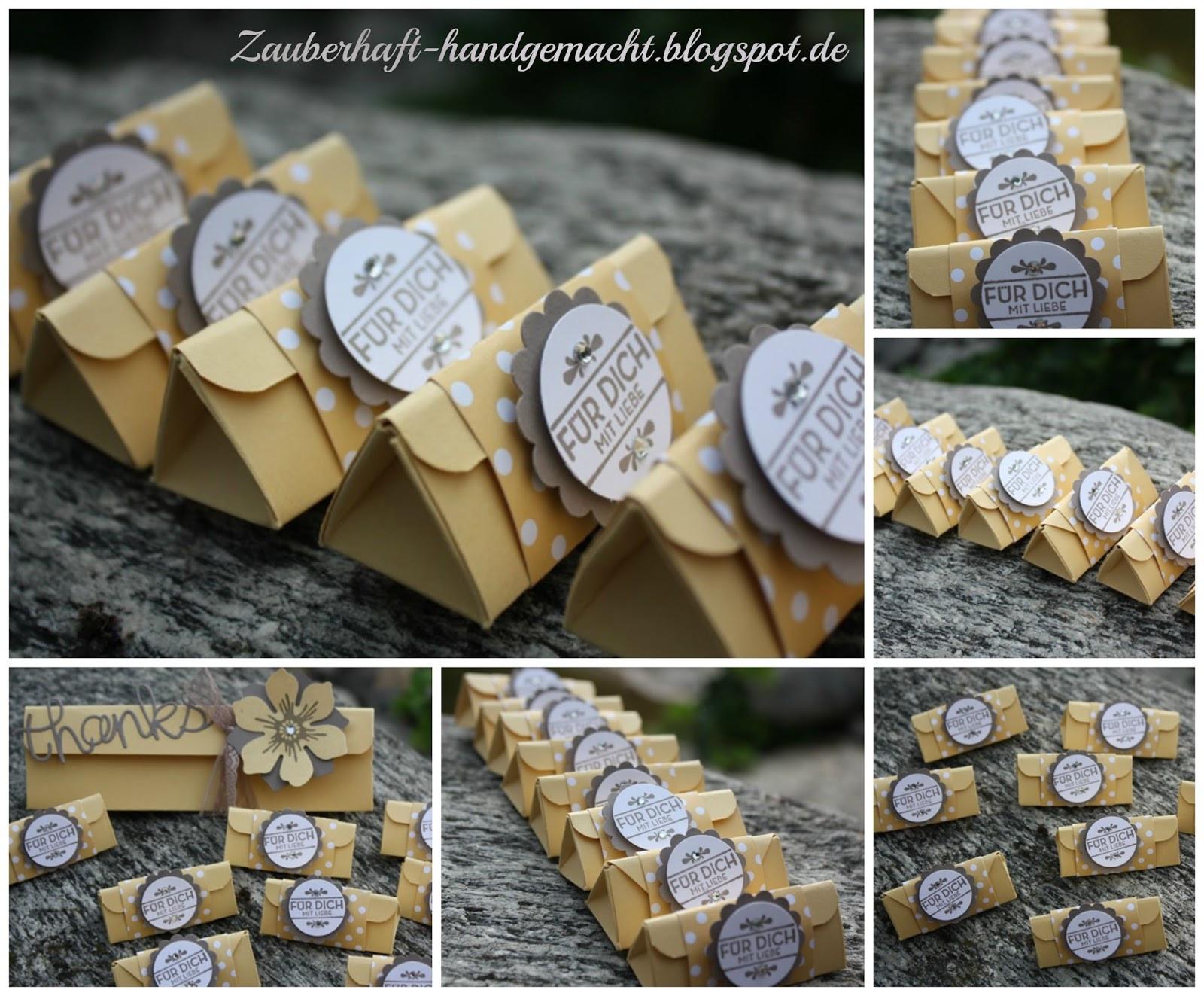 Geschenke Für Angehende Lehrer  Mini Mentos Dreiecks Goo s mit Anleitung