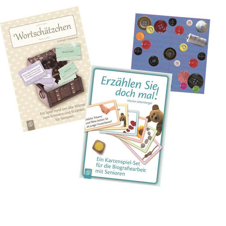 Geschenke Für Demenzkranke  Seniorenspiele und Spiele für Demenzkranke tolles 3er Set