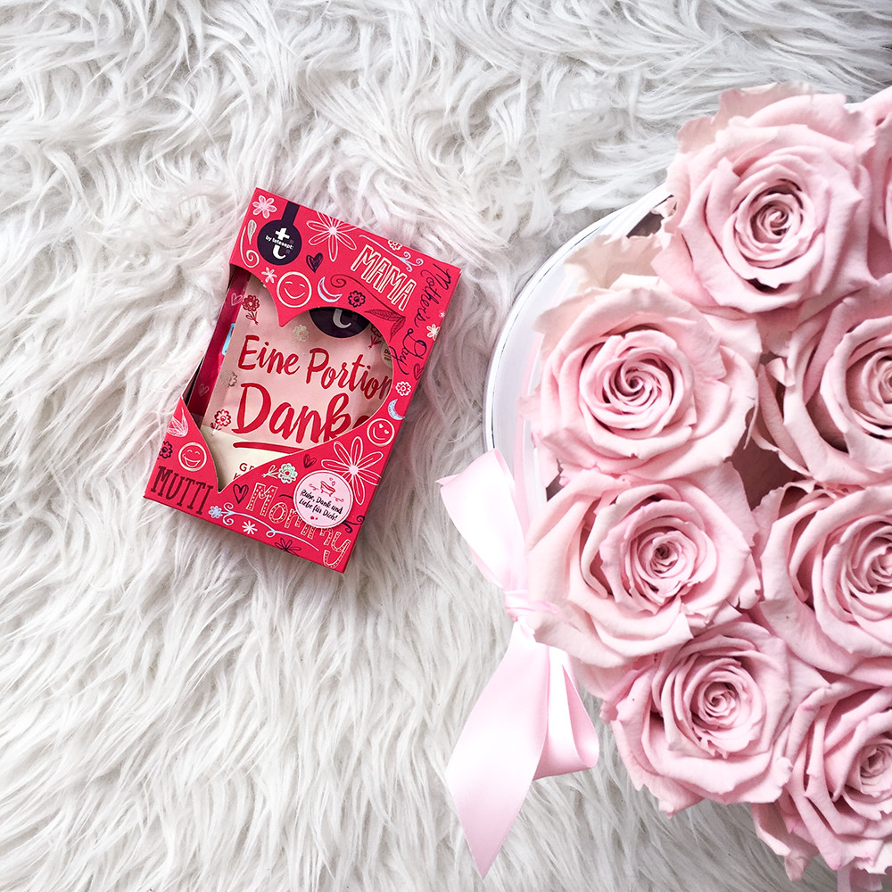 Geschenke Für Den Liebsten  Muttertag Last Minute Geschenke für Mama Glittery Peonies