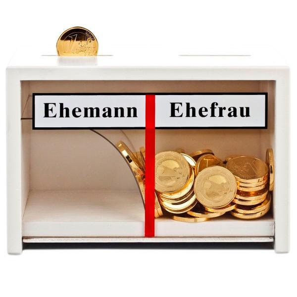 """Geschenke Für Ehefrau  Lustige Spardose """"Eheleute"""" zur Hochzeit für Geld"""