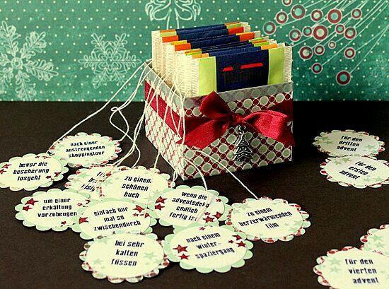 Geschenke Für Gute Freunde  Geschenke Tee liebevoll verpacken und Sprüche