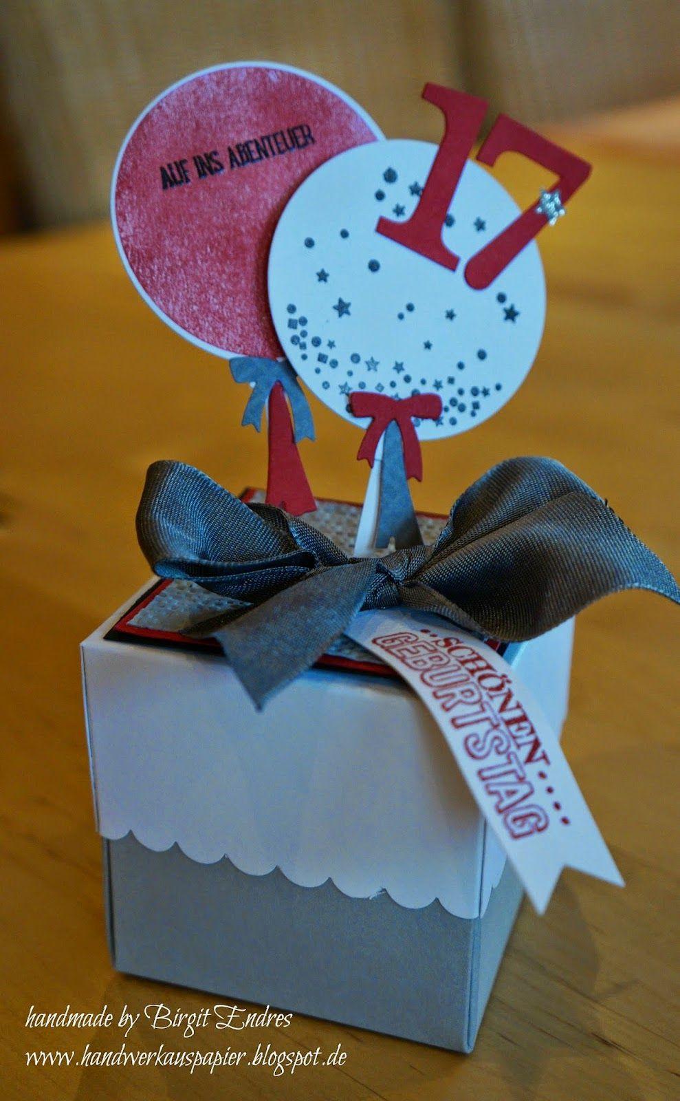 Geschenke Für Junge Männer  HandWerk aus Papier Geburtstag Kinder