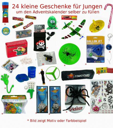 Geschenke Für Jungen 12 Jahre  24 Geschenke für Jungen um den Adventskalender selber zu