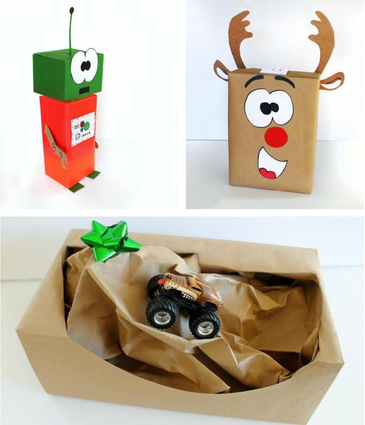 Geschenke Für Kinder Lustig Verpacken  Geschenke verpacken mal anders 40 Ideen und Anleitungen