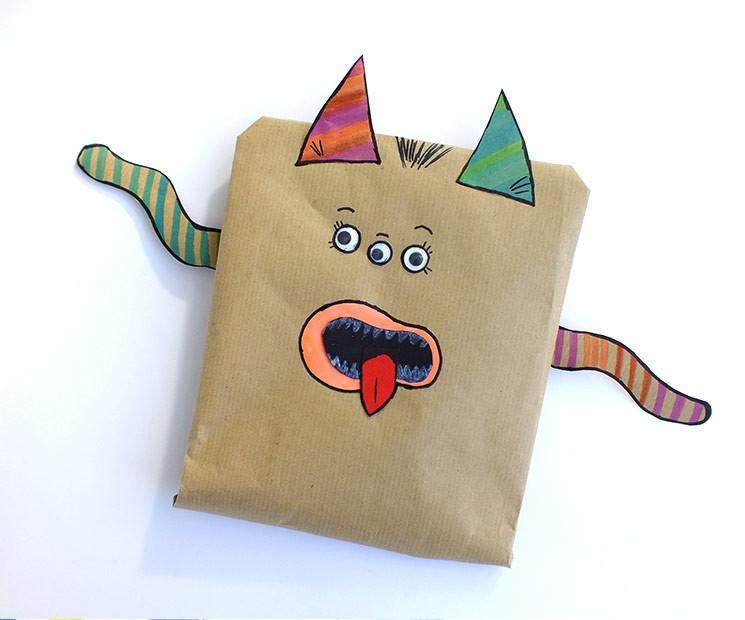 Geschenke Für Kinder Lustig Verpacken  Kindergeschenke verpacken leicht gemacht gefunden auf