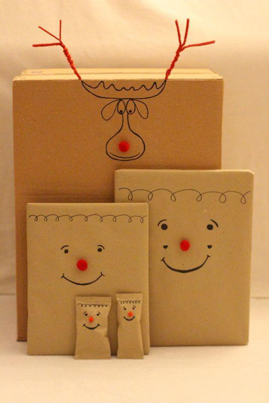 Geschenke Für Kinder Lustig Verpacken  Pelz Geschenke and Weihnachten on Pinterest