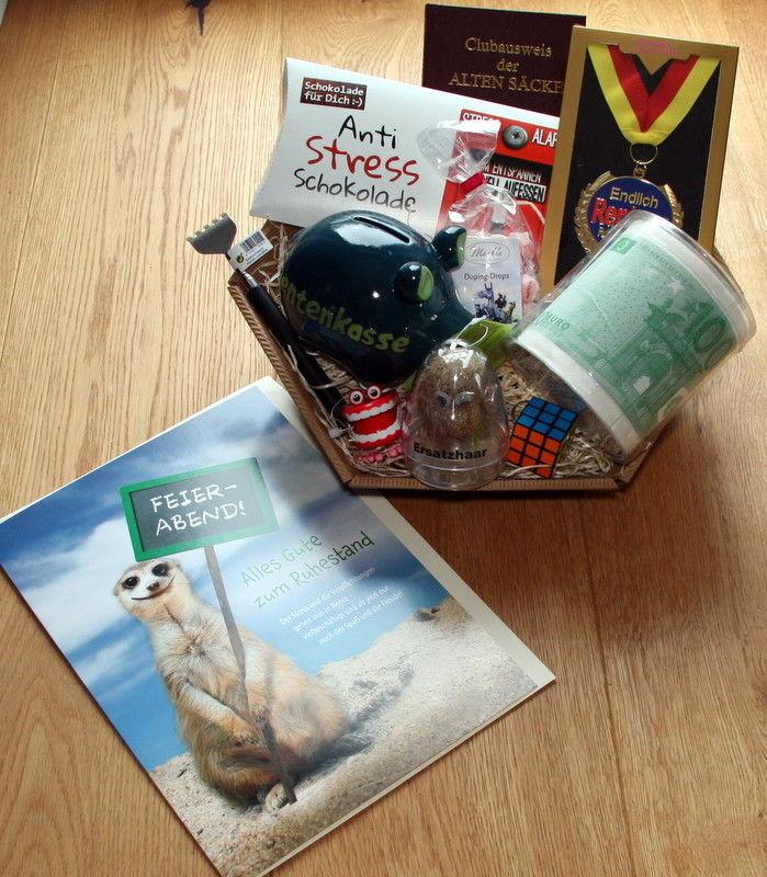 Geschenke Für Kollegen Zum Abschied  Abschied Ruhestand Rente lustige Geschenkidee Geschenke