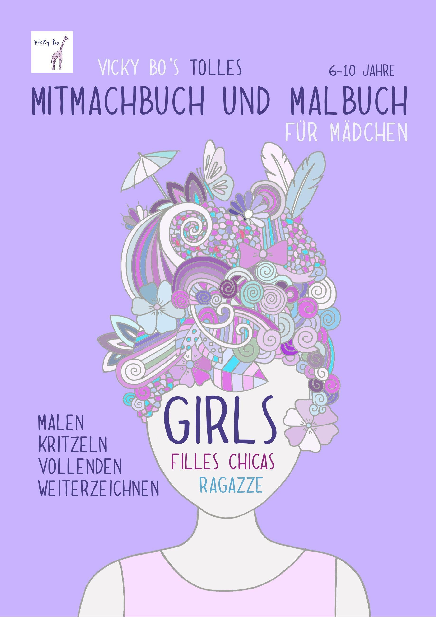 Geschenke Für Mädchen 10 Jahre  bücher buch Geburtstagsgeschenk zeichnen basteln