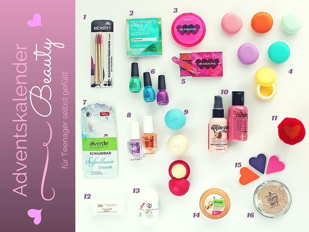 Geschenke Für Mädchen 10 Jahre  Adventskalender für Teenager füllen Beauty